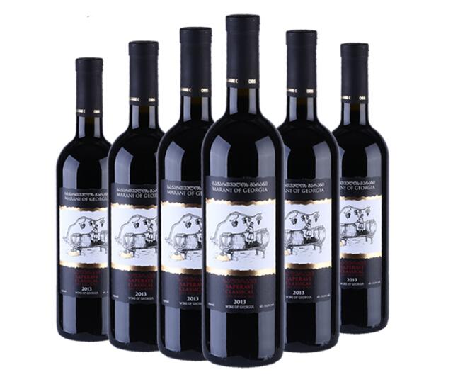格鲁吉亚卡赫基玛拉尼系列原瓶葡萄酒广州进口清关案例