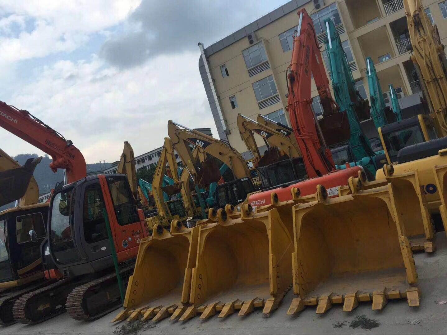 二手旧大型挖掘机进口报关商检代理、装运前检验检疫代理
