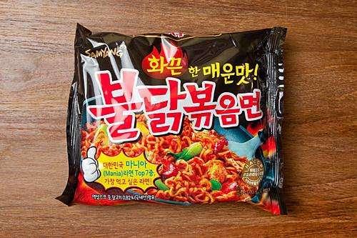 韩国进口泡面进口报关商检案例
